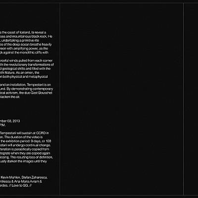 "deMEGO027 Stephen O'Malley ""TEMPESTARII +DISintegration"" Cassette"
