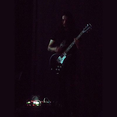 7th December: Stephen O'Malley (solo) in Rio De Janeiro / Novas Frequências 2013 / Oi Futura Ipenama