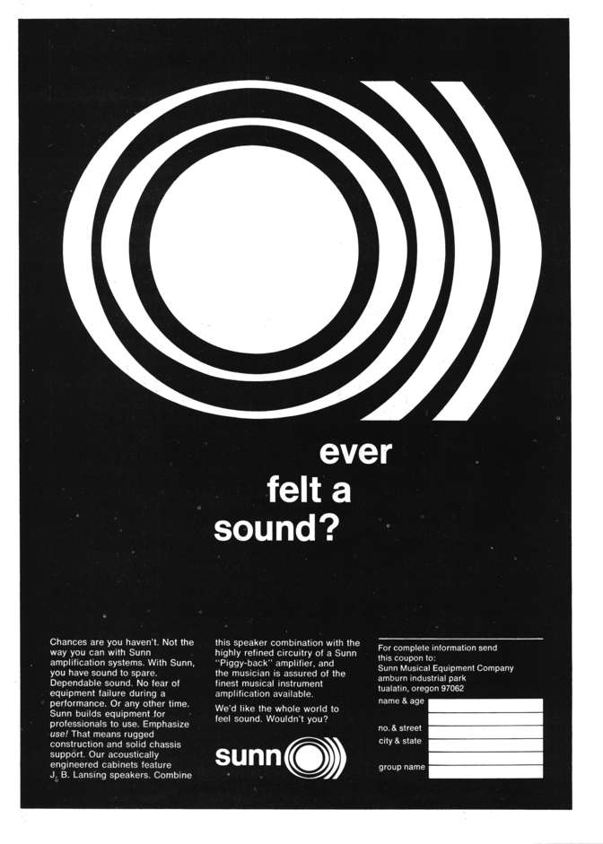 "SUNN O))) ""ever felt a sound?"""