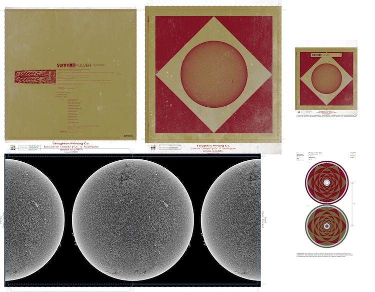 SUNN O))) & ULVER: LP + CD + DIGITAL PRE-ORDER AVAILABLE NOW, ARTWORK REVEALED