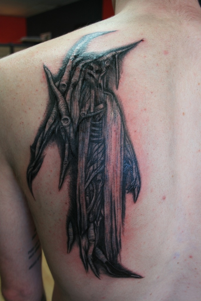 Just another victim ( O))) tattoo )