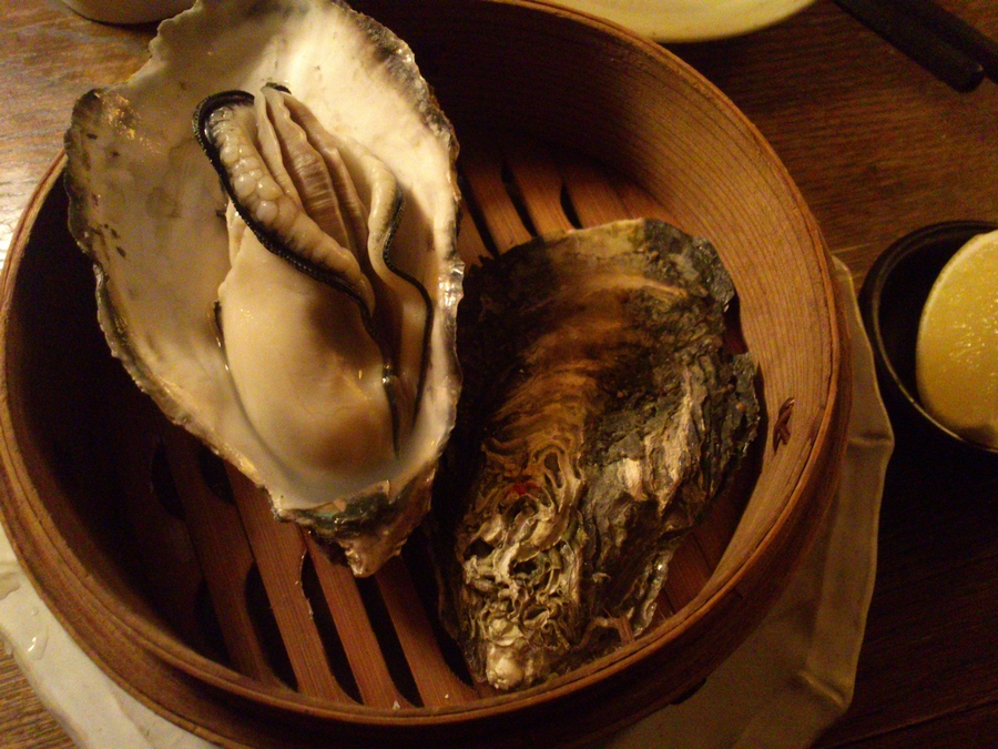 COH's steamed oyster
