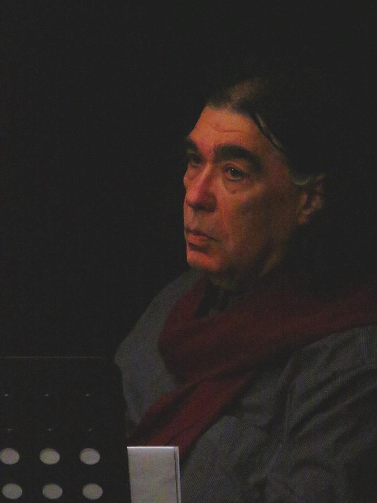 Portrait de maître Iancu Dumitrescu, Athens 2014