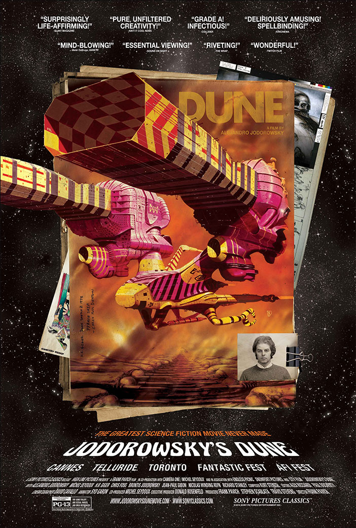 """JODOROWSKY'S DUNE"" now playing at Film Forum NY"