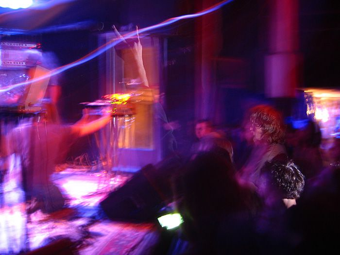 KHANATE live at Knit