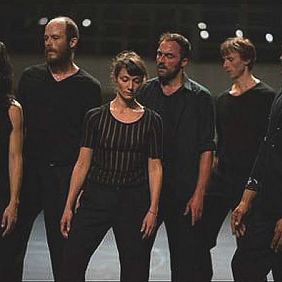"""ANNE TERESA DE KEERSMAEKER """"Vortex Temporum"""" (w/Gérard Grisey/Ensemble Ictus) Theatre de la Ville 28 APR- 7 MAY 014"""