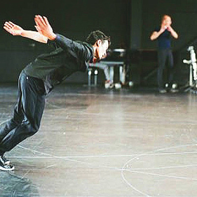 "ANNE TERESA DE KEERSMAEKER ""Vortex Temporum"" (w/Gérard Grisey/Ensemble Ictus) Theatre de la Ville 28 APR- 7 MAY 014"