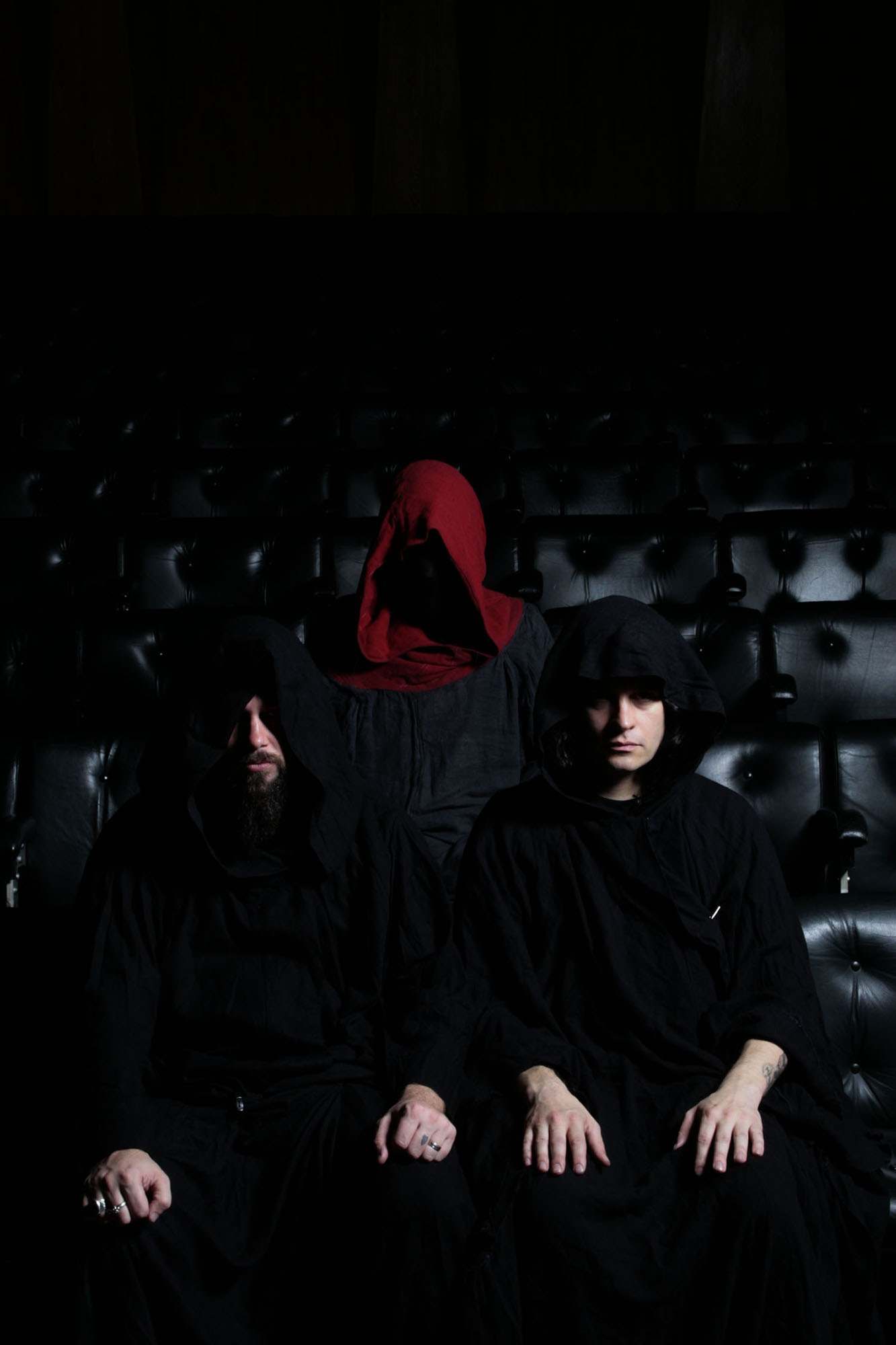 SUNN O))) @ Queen Elizabeth Hall 2007 photo by Kerry O'Sullivan