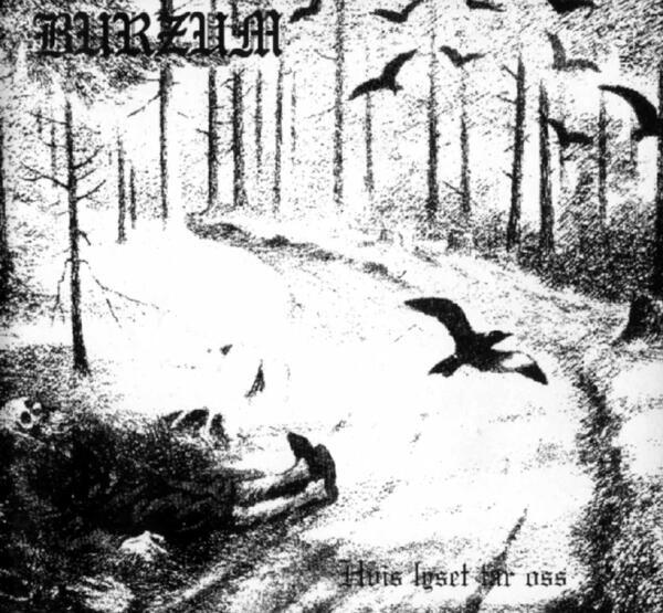 "DEAD OF NIGHT ACID: Burzum ""Hvis Lyset Tar Oss"" CD 1994 (AMAZON 001, EYE 002)"