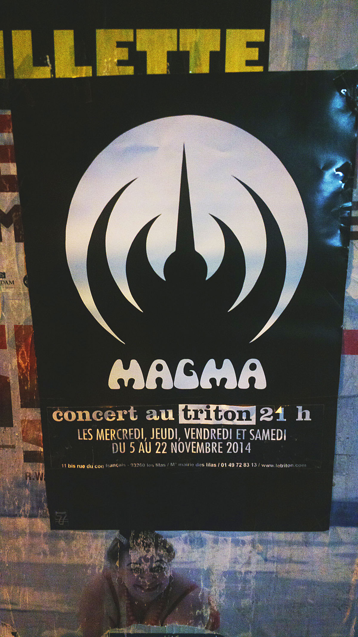 MAGMA Live in Paris November 2014 ALERT!