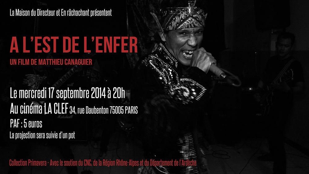 """""""À l'est de l'enfer"""" indonesian black metal documentary directed by Matthieu Canaguier ALUK TODOLO)"""