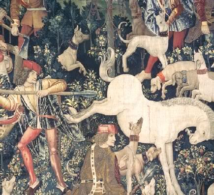 The Unicorn Tapestries (detail)