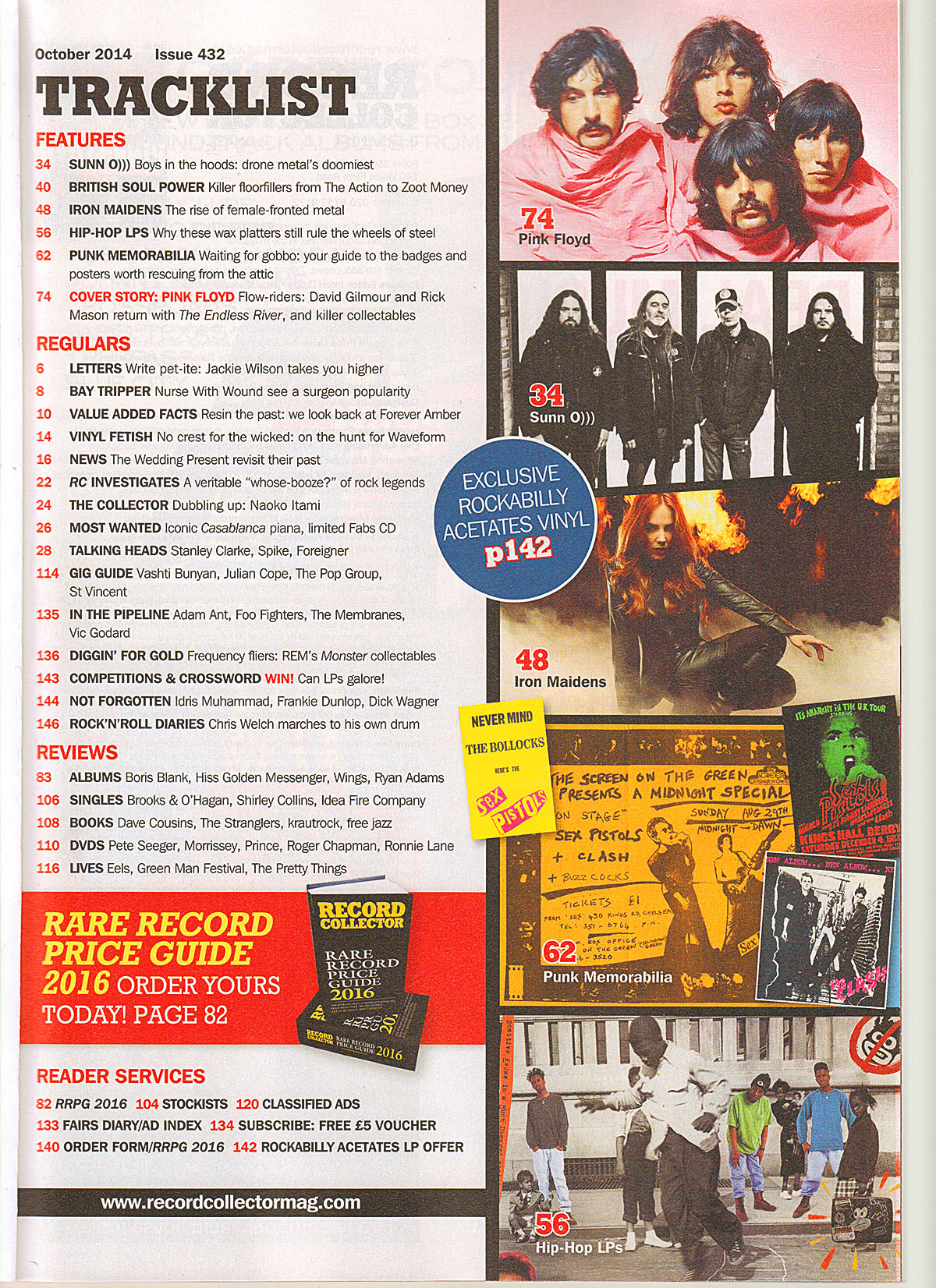 SUNN O))) Record Collector Feature October issue 2014