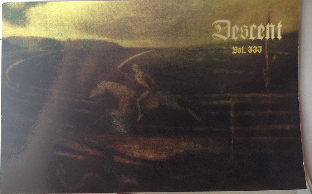 DESCENT MAGAZINE VOL III Spring 1996 flyer