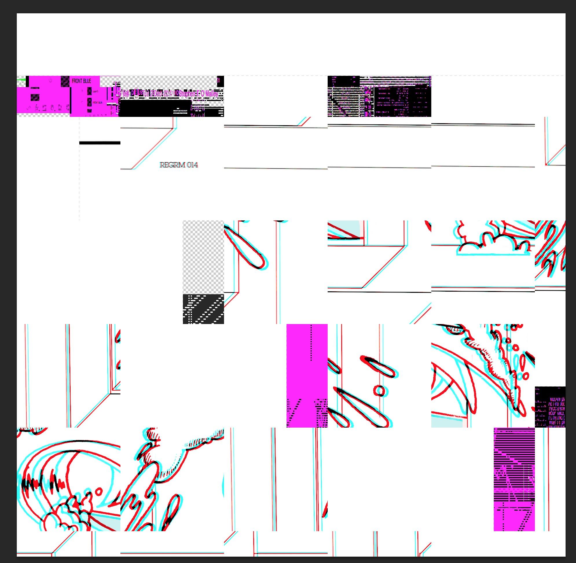 Yasunao Tone in the machine (render error REGRM014)