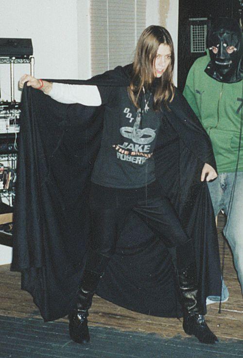 a cape & a gimp