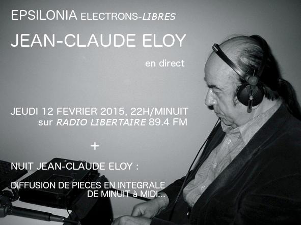 E P S I L O N I A: Jean-Claude Eloy 12 February live Midnight-Noon