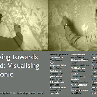 DRAWING TOWARDS SOUND: VISUALISING THE SONIC @ University Greenwich Galleries