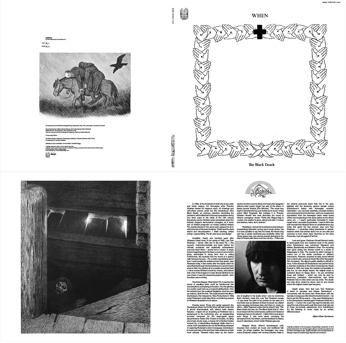 """SOMA022 When """"The Black Death"""" gatefold LP now available for preorder"""