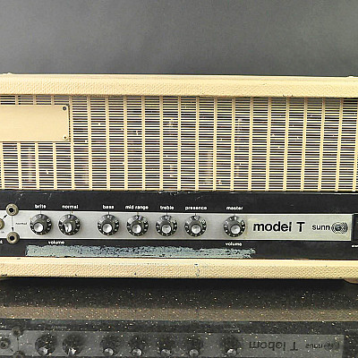 EDDIE VAN HALEN's SUNN O))) Model T SN: 34300 for sale on eBay