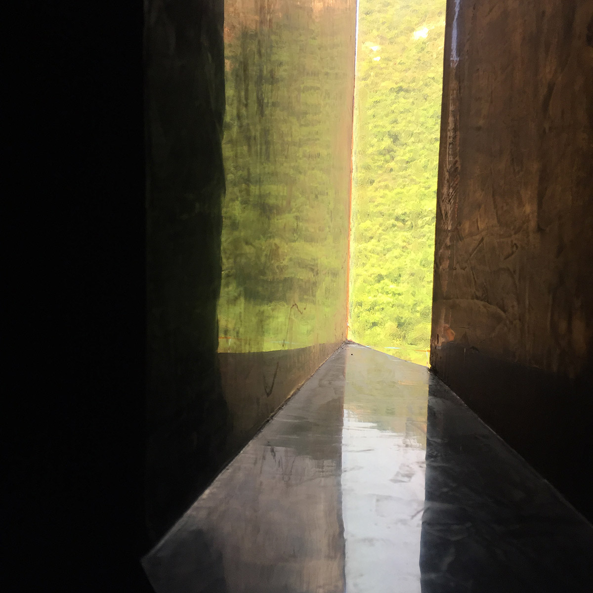 Solitary portal in The Empty Gallery Hong Kong