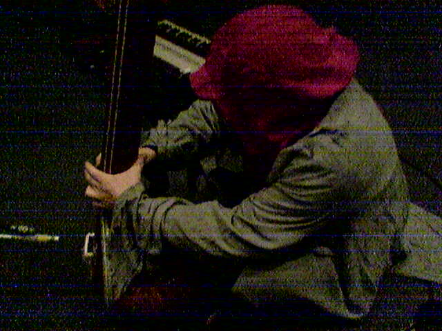 SAVAGE PENCIL enrobed, tambura performance at SUNN O))) 2004 Peel Session