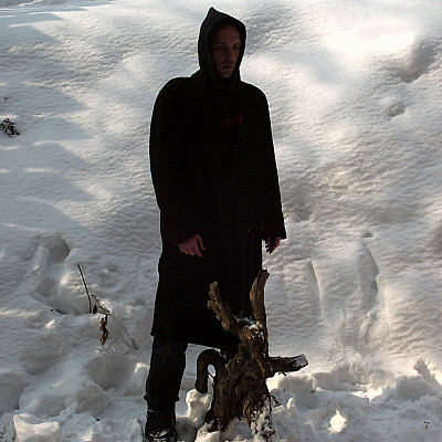 "Attila Csihar original photo shoot for SUNN O))) ""White2"" album, 2003"