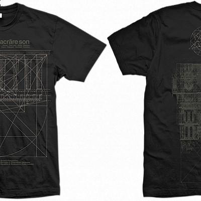 "SUNN O))) ""sacrare son 2009"" & ""Meltdown 2015"" tshirt reprints avail now"