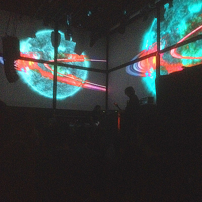Hail Thurston and RBMA for the great evening at Gaîté Lyrique