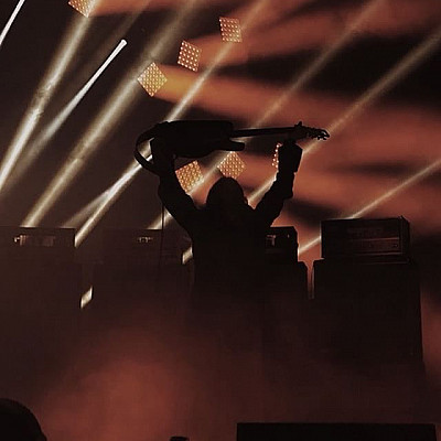 SUNN O))) PsychoVegas performance photos 19 August 2018