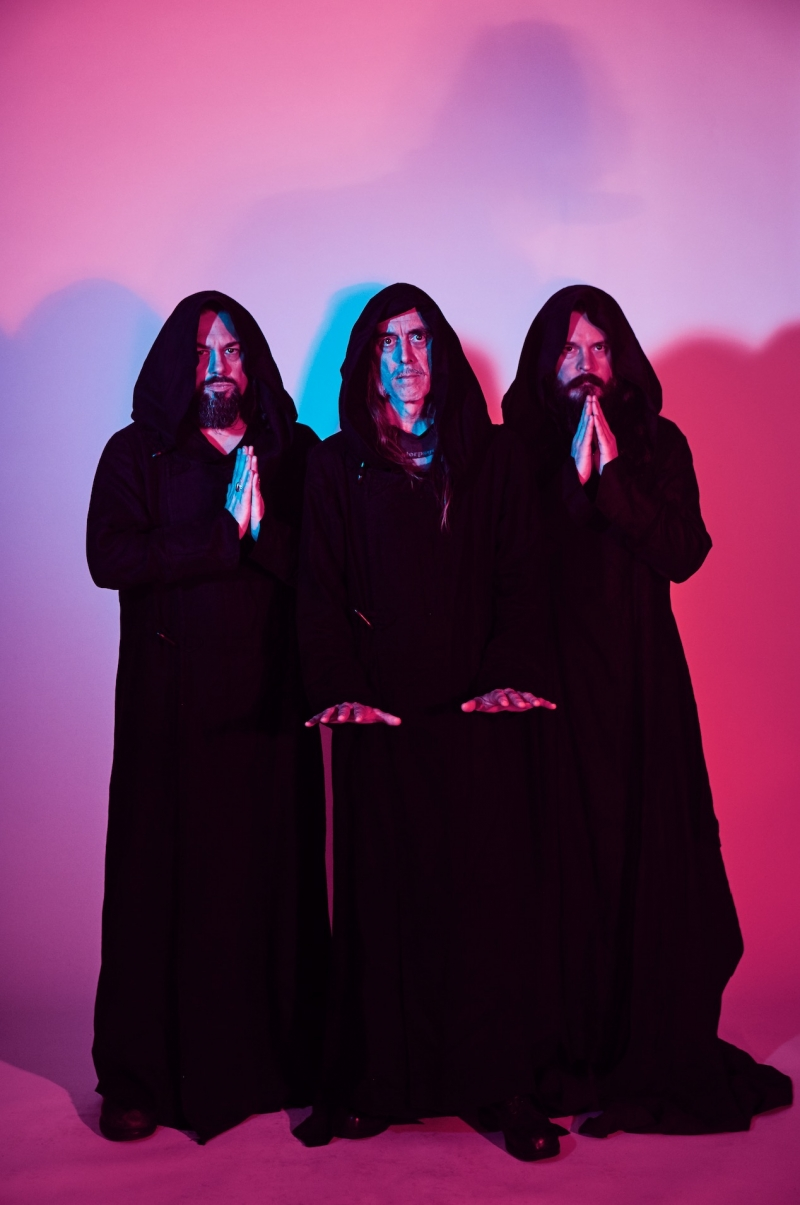 SUNN O))) LET THERE BE DRONE (MULTIPLE GAINS STAGES) April 2019 USA part 1