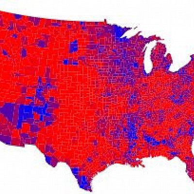 Maps and cartograms of the 2004 US presidential election results